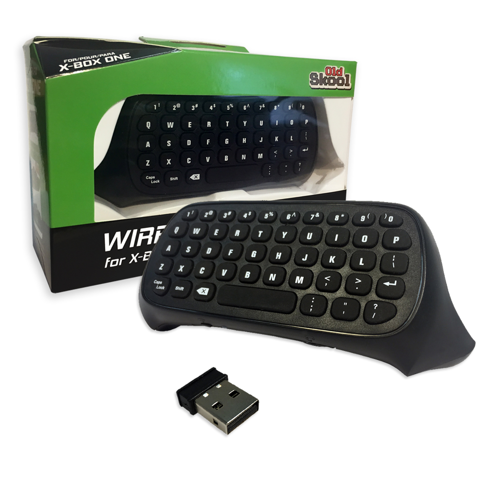 Old Skool Wireless Keyboard for Microsoft Xbox One, 00645871906718