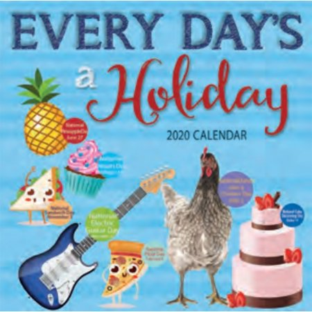 2020 Everydays a Holiday Wall Calendar, by Turner Licensing