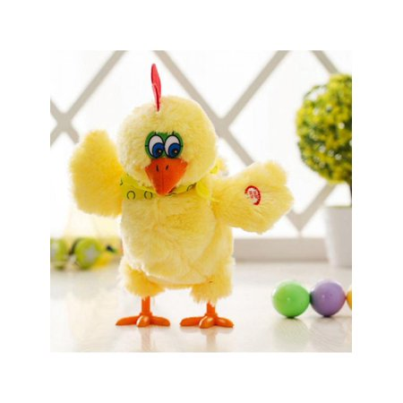 Children Electric Musical Dancing Chicken Hens Laying Eggs Easter Party singing dancing Funny Plush