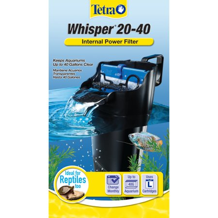 Tetra Aquarium Whisper, 20-40 Gallon Internal Power