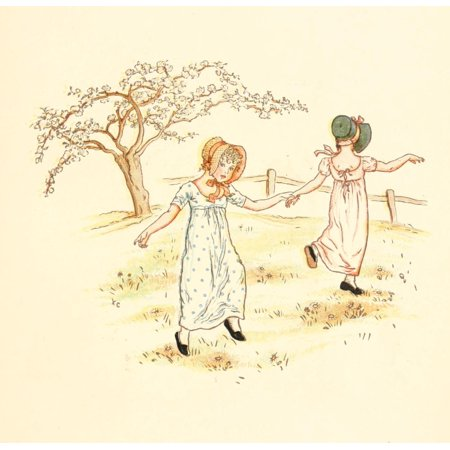 Kate Greenaway Stretched Canvas Art - Little Ann & other Poems 1890 ...