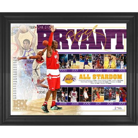 Kobe Bryant Los Angeles Lakers Framed 16