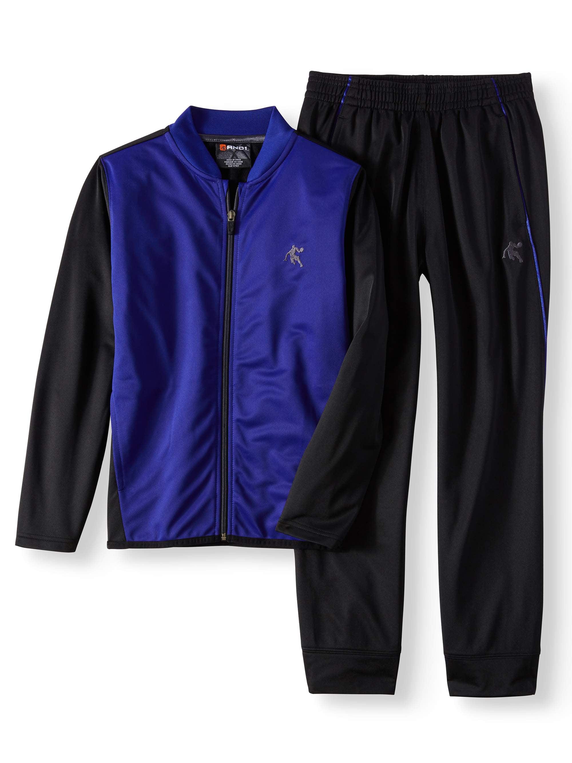 Forward Pass Full-Zip Track Suit (Little Boys & Big Boys)