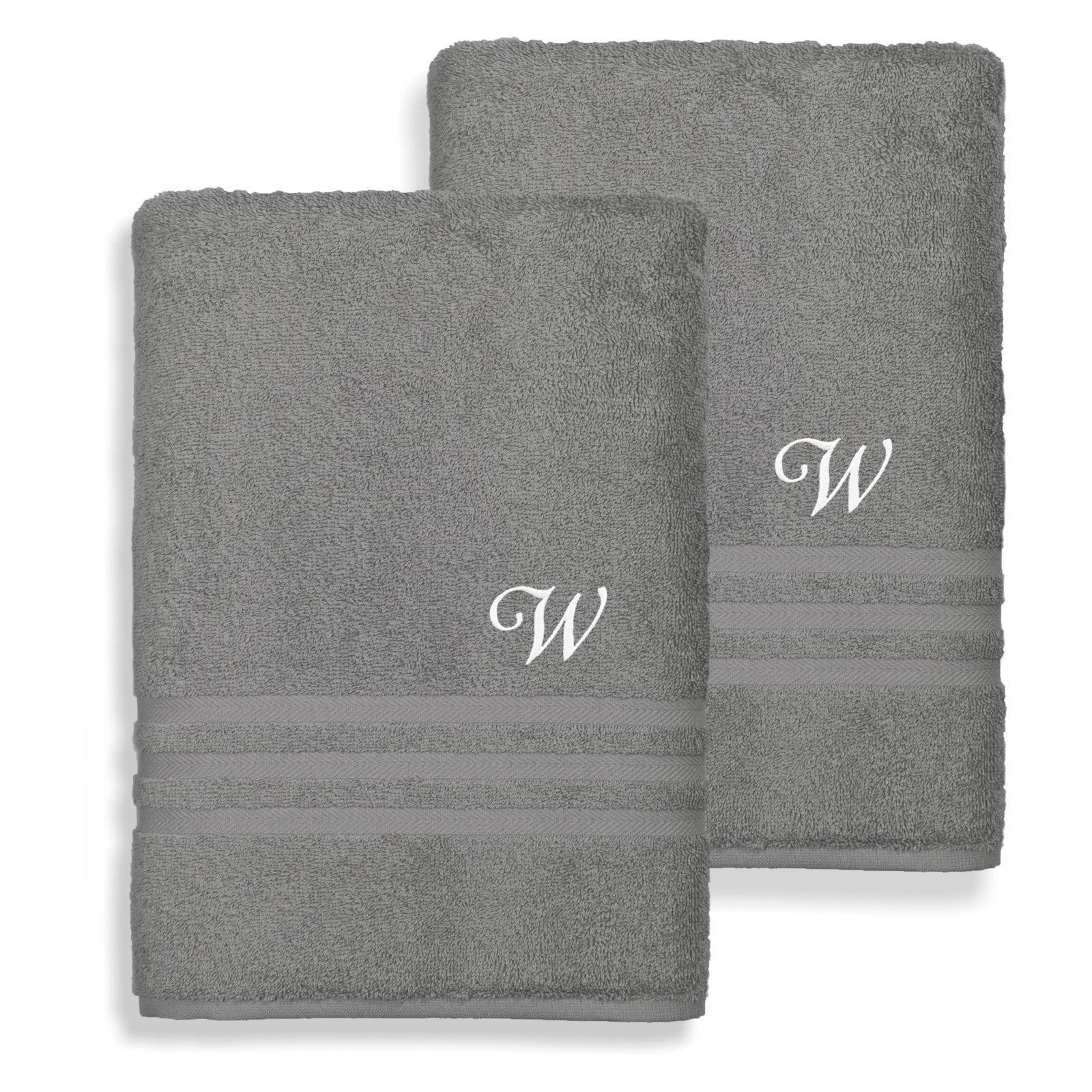 Linum Home Textiles Denzi Cotton Bath Towels Set of 2 by Overstock