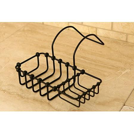 Kingston Brass Solid Brass Tub Side Bathtub Shelf ()