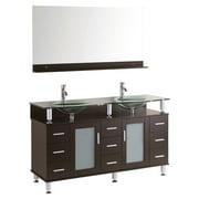 Kokols 9097 60 in. Double Sink Bathroom Vanity