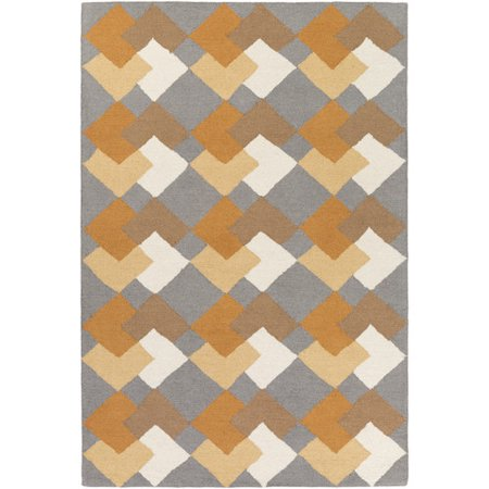 George Oliver Younker Hand Crafted Multi Colored Area Rug
