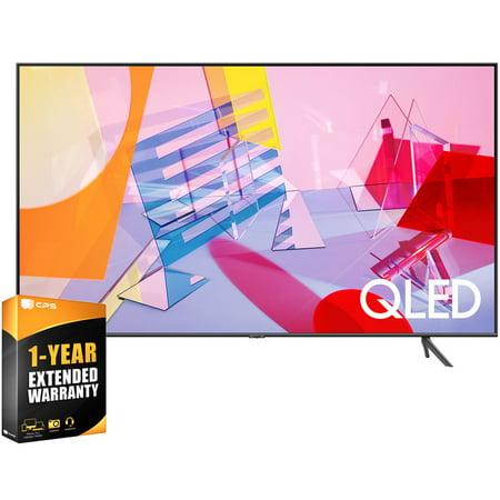 "Samsung QN55Q60TA 55-inch 4K QLED Smart TV (2020 Model) Bundle with 1 Year Extended Warranty(QN55Q60TAFXZA 55Q60TA 55Q60 55 Inch TV 55"" TV)"
