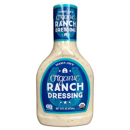 Trader Joes Organic Ranch Dressing 16 Oz