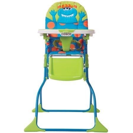 Simple Fold Deluxe High Chair, Choose Your Character / Monster Syd