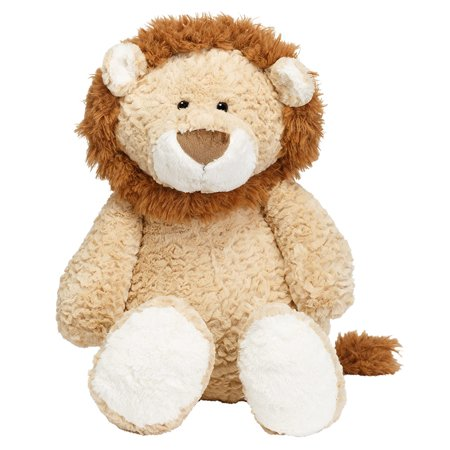 Joon Leo The Lion Stuffed Animal Tan 17 Inches Walmart Com