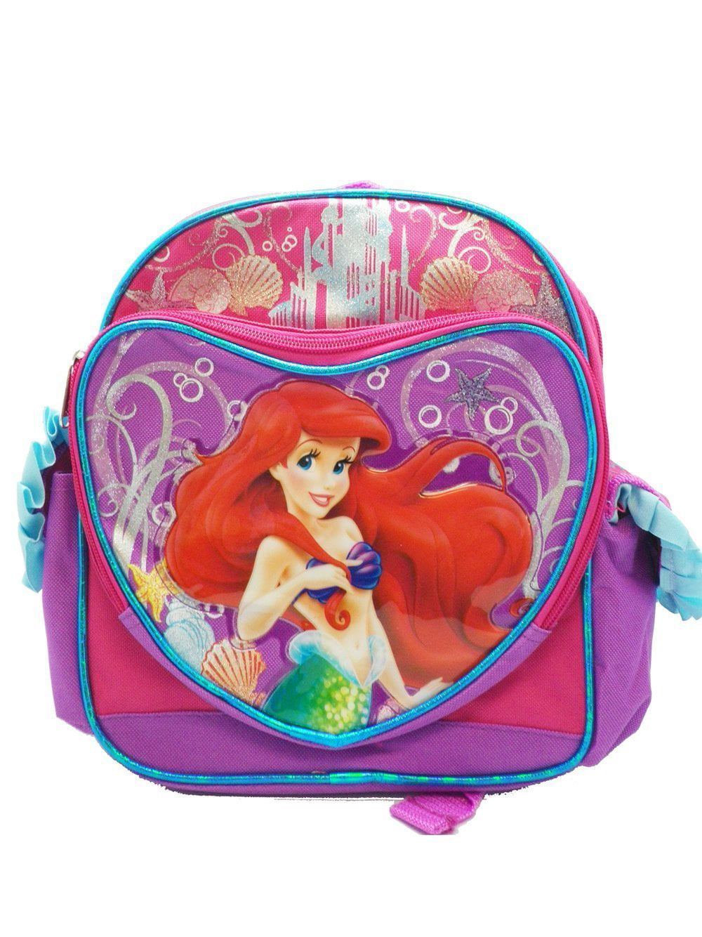 Ariel Backpack Pink and Purple Little Mermaid by Disney