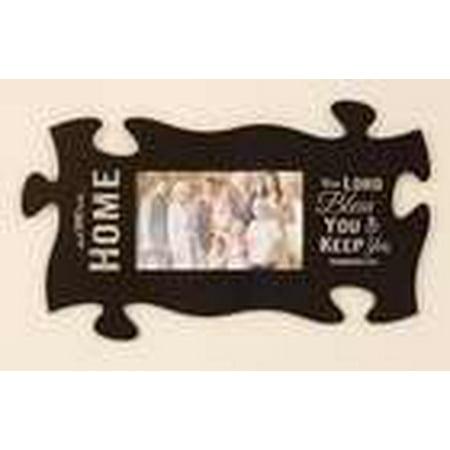 Plaque Puzzle Piece Frame Home Black 22 X 13 Walmart Com