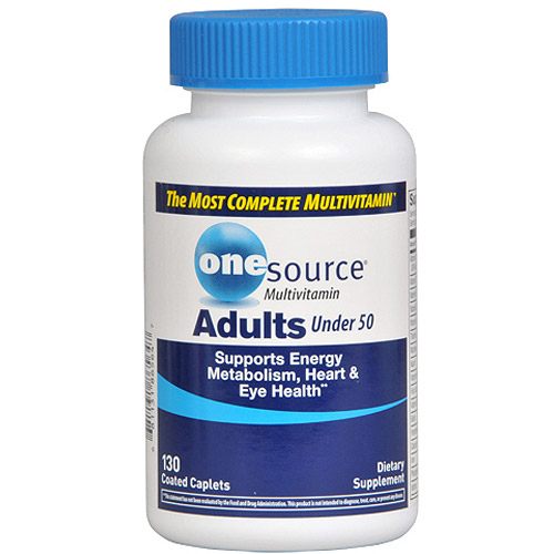 One Source Advanced Adult Multivitamin With D3, 130ct
