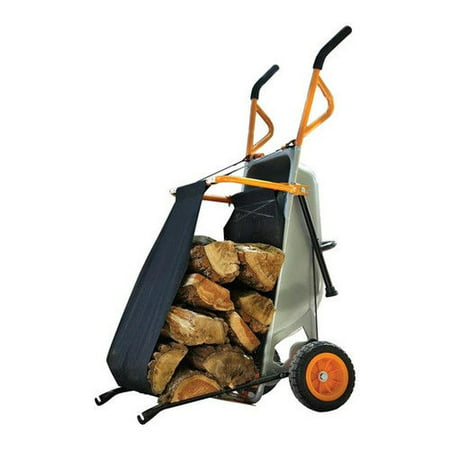 Worx WA0232 Aerocart Wheelbarrow Firewood Carrier - Decorative Wheelbarrow