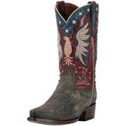 """Dan Post Western Boots Mens 13"""" Bountiful Orthotic CB Brown DP2505"""