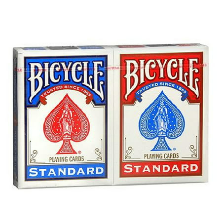 2 Decks Bicycle Rider Back 808 Standard Poker Playing Cards Red and - Printable Halloween Playing Cards