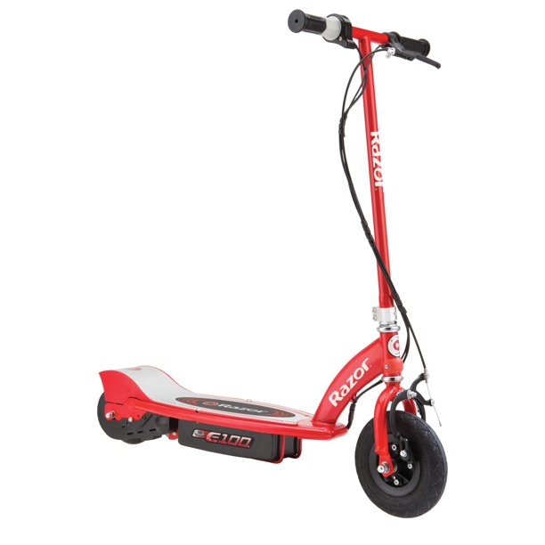 Razor E100 Electric Scooter Red- Ages 8+
