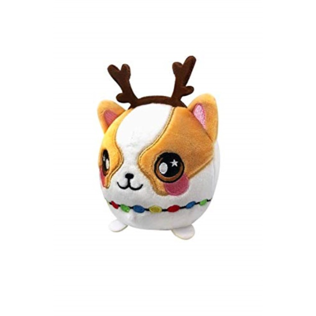 Squeezamals 3.5 Inch Holiday Squishy Plush Toy Figure