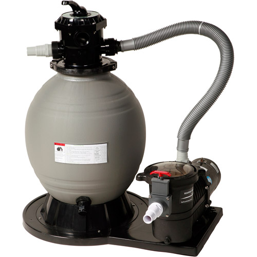 "Blue Wave Sandman 18"" Sand Filter System with 1 HP Pump for Above Ground Pools"