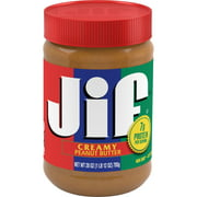 (3 Pack) Jif Creamy Peanut Butter, 28-Ounce