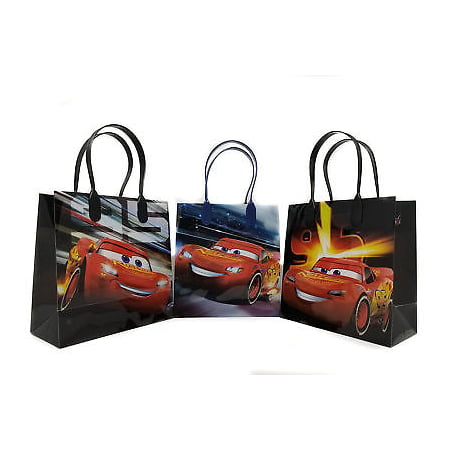 12PCS Disney Cars Mc Queen Authentic Goodie Party Favor Gift Birthday Loot Bags (Halloween Loot Bags Ideas)