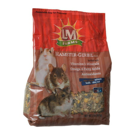 LM Animal Farms Hamster & Gerbil Diet 2 lbs