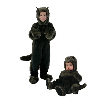 Toddler Black Dog Costume - 4T