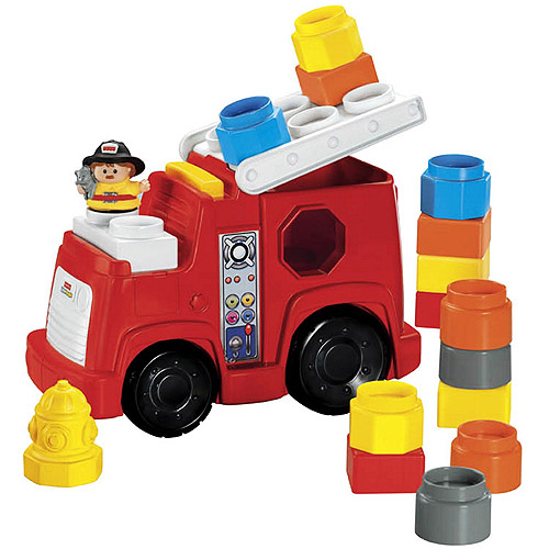 Fisher-Price Little People Build 'N Drive Fire Truck