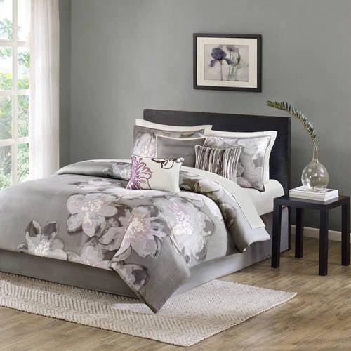 Home Essence Jasmine 7-Piece Cotton Bedding Comforter Set