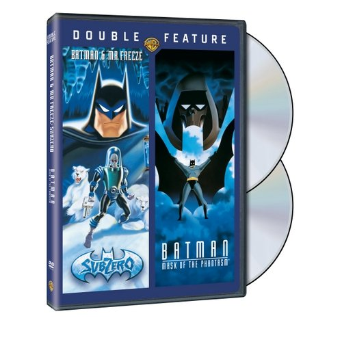 Batman: Mask Of Phantasm / Batman And Mr. Freeze: Sub Zero (Full Frame)