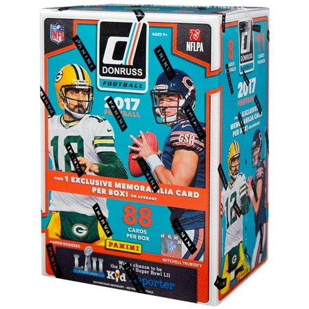 Nhl Trading Card (2017 Panini Donruss NFL Football Trading Card Blaster Box )