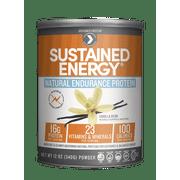 Designer Protein Sustained Energy Protein Powder, Vanilla Bean, 16g Protein, 12 Oz