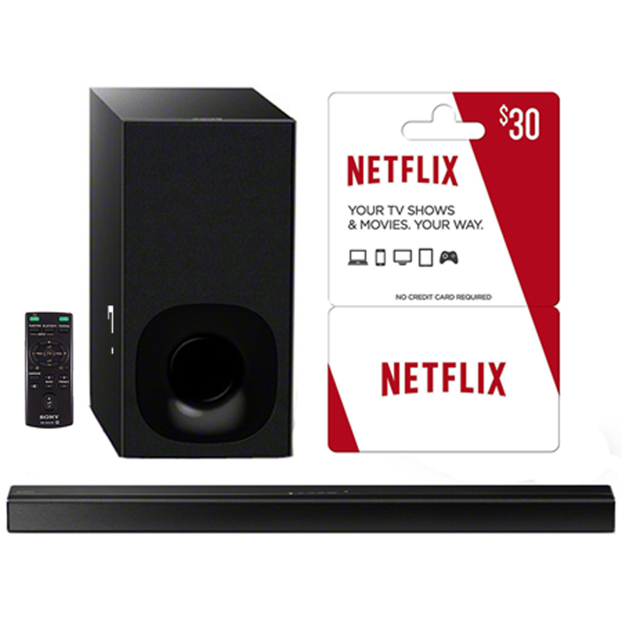 Sony HT-CT180 2.1ch 100W Wireless Bluetooth Soundbar with 3 Free Months of Netflix by Sony
