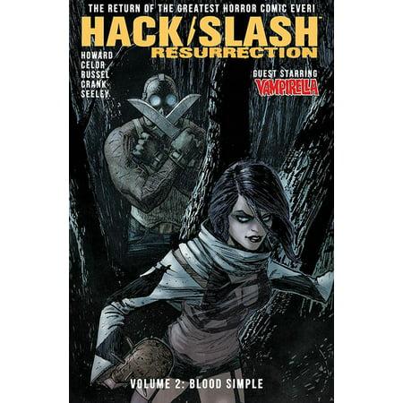 Hack/Slash: Resurrection Volume 2: Blood Simple (Hack Gu Vol 2)