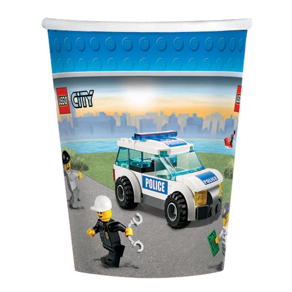 LEGO City Paper 9oz Paper Cups(8ct)