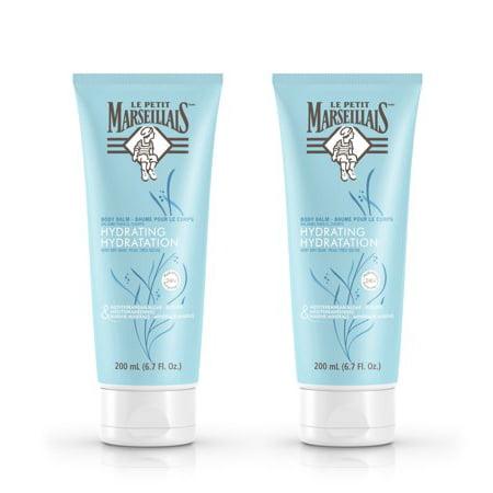 (2 pack) Le Petit Marseillais Algae & Marine Minerals Body Balm, 6.7 fl. oz (Marine Lotion)
