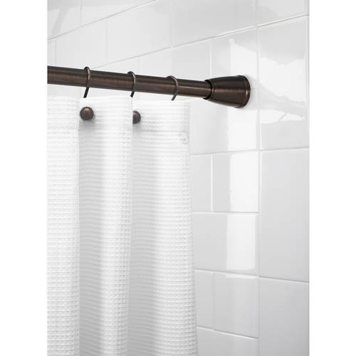 Better Homes and Gardens Tapered EZ Up Shower Curtain Rod by Maytex Mills