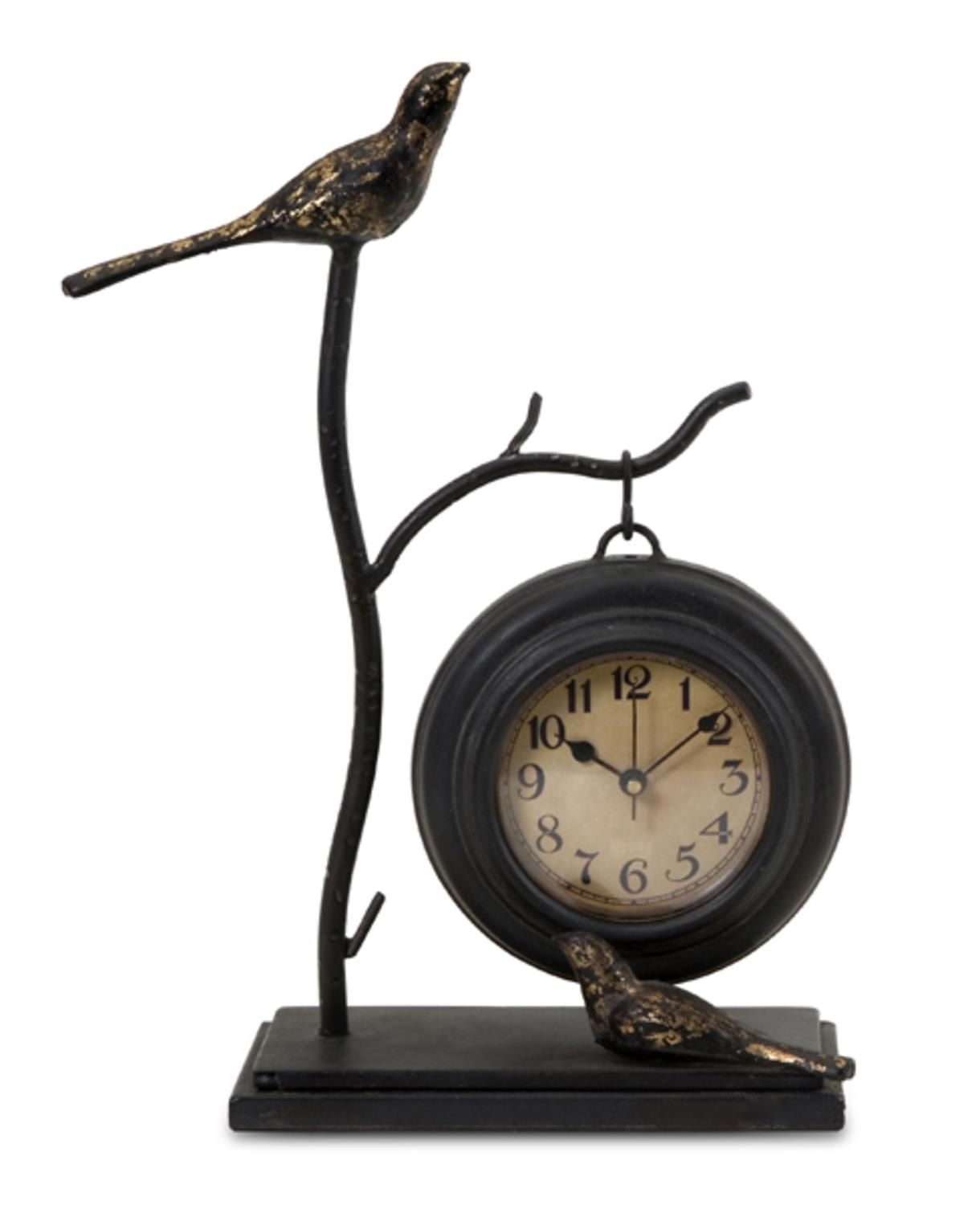 """12"""" Charming Bird & Branch Design Hanging Table Clock by CC Home Furnishings"""