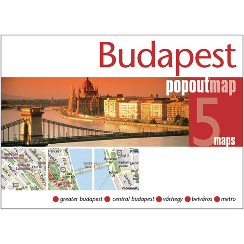 Universal Map Budapest PopOut Map
