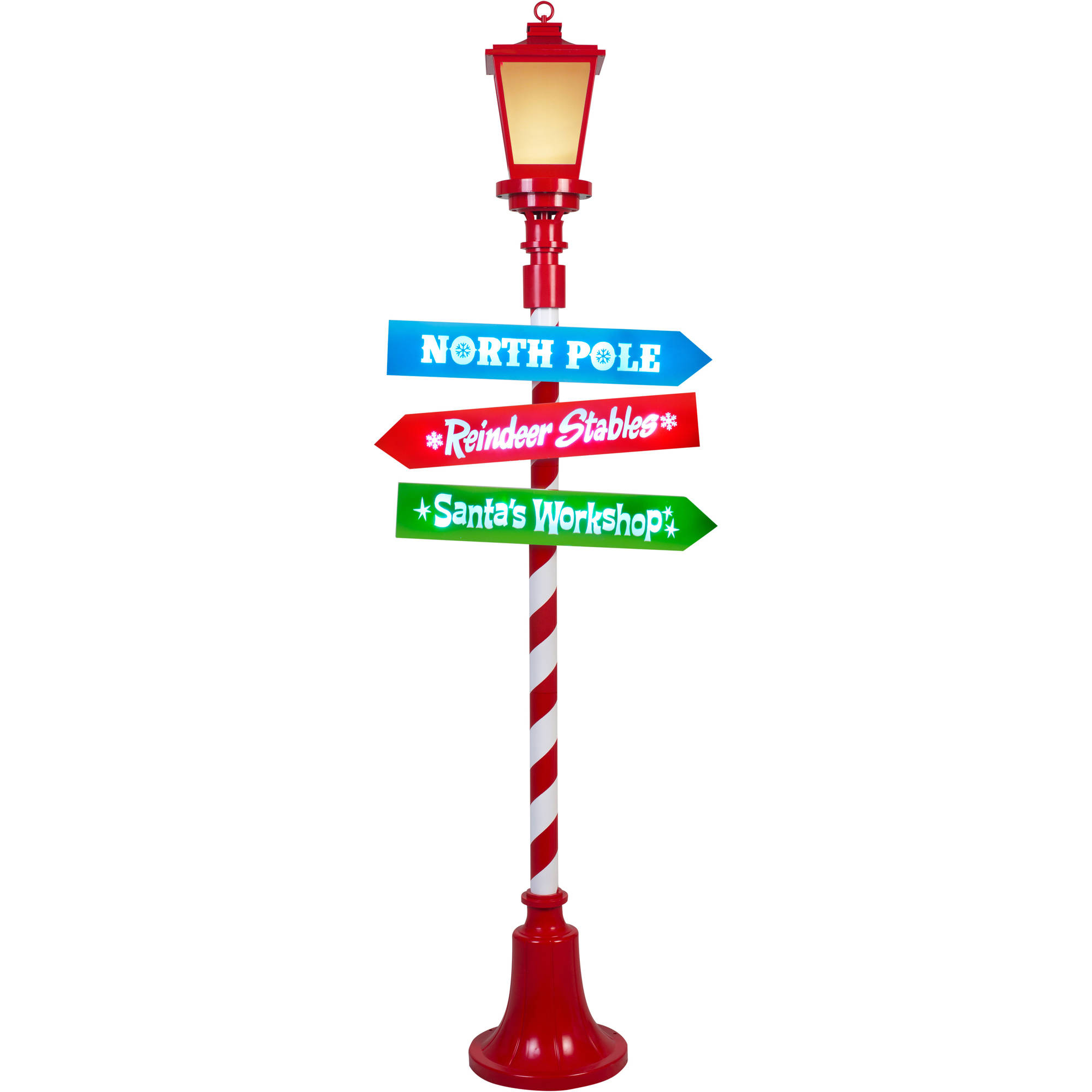 Gemmy Christmas Lights.Gemmy Lightshow Christmas Lights 6 Projection Lamp Post