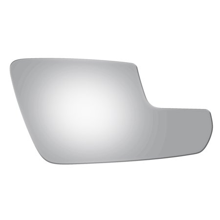 (For 11-14 Ford Mustang Right Passenger Side Lower Convex Power Door Mirror Glass)