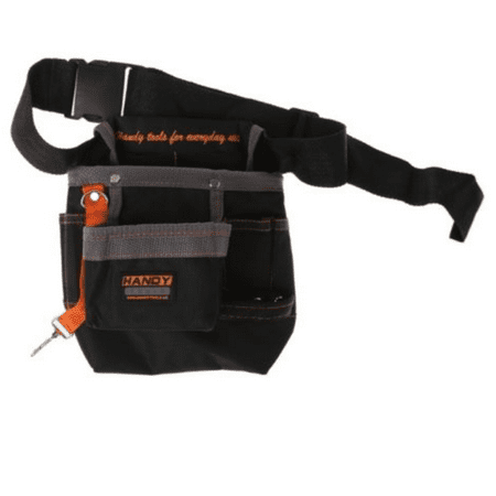 Multi-functional Electric Tool Pouch Bag 8 Pocket with Waist Belt for Wrench Hammer Screwdriver