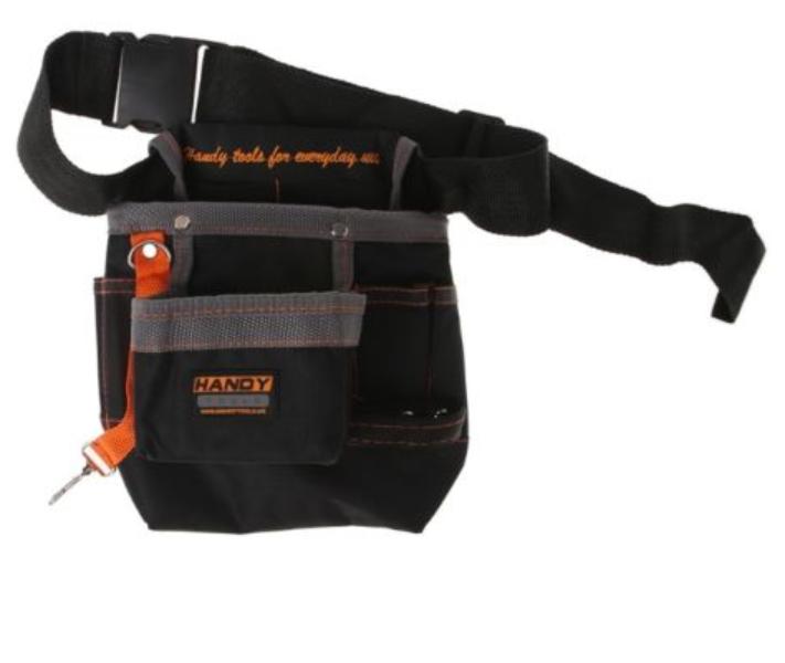 Oxford Fabric Tool Belt Waist Bags Electrician Working Pockets Black