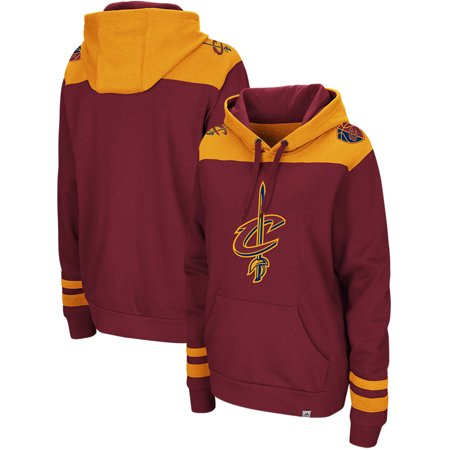 timeless design 76cde 39bcd Cleveland Cavaliers Majestic Triple Double Pullover Hoodie - Wine/Gold