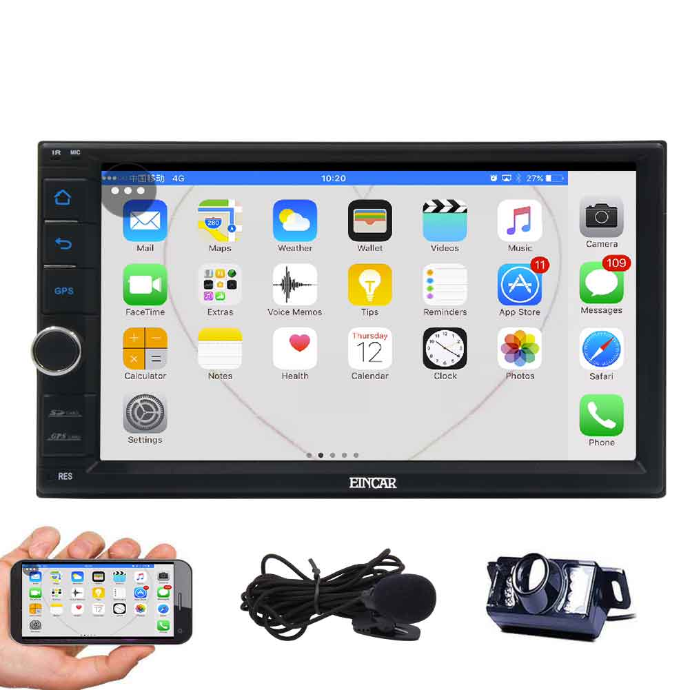 7 Inch EinCar Android 6.0 Quad Core Car Stereo with GPS N...