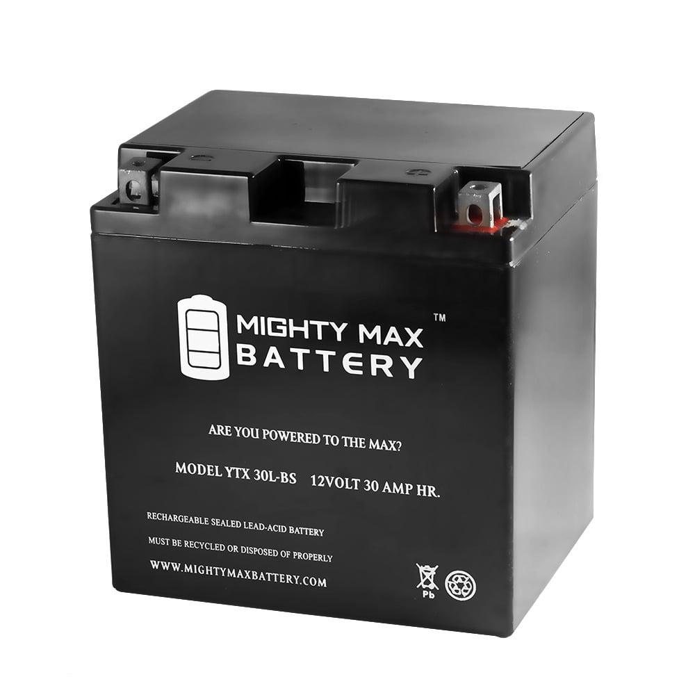 YTX30L-BS 12V Battery for Harley-Davidson FL, FLH Series 97-11