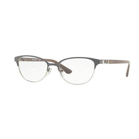 Vogue VO4066 Eyeglass Frames 5061-51 - Grey Silver VO4066-5061-51 ...