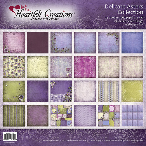 Heartfelt Creations Double-Sided Paper Pad