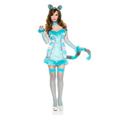Music Legs 70716-XS 5 Piece Cheery Cheshire Cat Costume, Extra Small - image 1 de 1